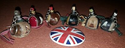 Falconry Hood Key Chain Quality Genuine Leather. Best Deal