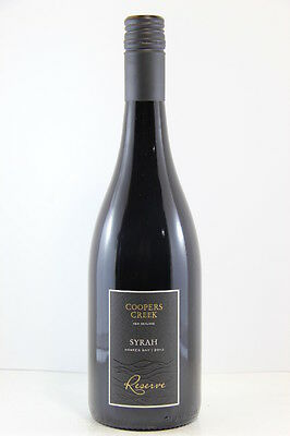 Coopers Creek Syrah 2013 Red Wine, Hawkes Bay