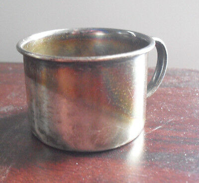 Vintage Towle Sterling Silver Rabbit Design Baby Cup 1077 34 grams