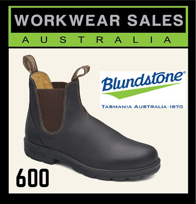 Blundstone 500 Mens Slip On Workboots. Non Safety Toe. Work Boots 500. Free Post