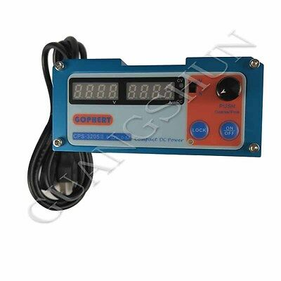 AC110-240V 0-32V 0-5A Compact DC Power Supply Digital display With Lock Button