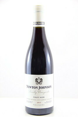 Newton Johnson Family Vineyards Pinot Noir 2013 Red Wine, Hemel en Aarde Valley