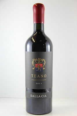 Dalla Cia Teano Bordeaux Blend Sangiovese 2011 Red Wine, Stellenbosch