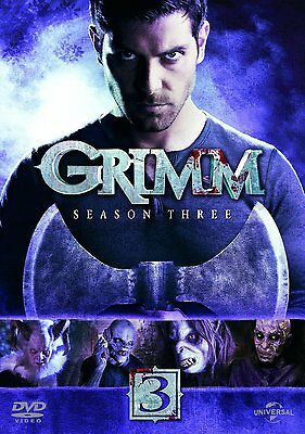 GRIMM Complete Season Series 3 Collection Boxset NEW DVD R4