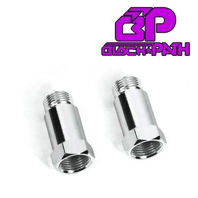 2x Oxygen O2 Sensor Extension Spacer Header Down pipe Downpipe Bung Weld Kit
