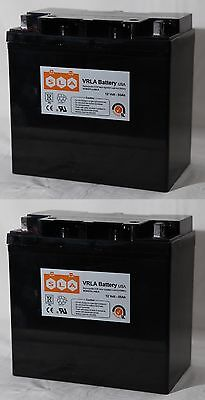 (2 Pack) - 12V 55Ah SLA AGM Replacement Battery for HZB12-55, NP55-12 NEW