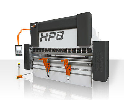 KAAST HPB 2600/100 (8'x110 ton) CNC hydraulic press brake, 4-axis, New+warranty!