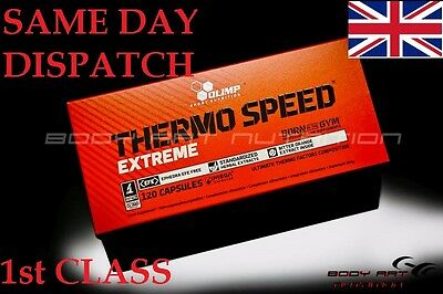 ## OLIMP Thermo Speed Extreme Mega 120 Caps Fat Burner Weight Loss  #