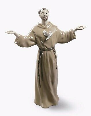 Lladro 01008780  ST. FRANCIS OF ASSISI  8780 BRAND NEW IN BOX