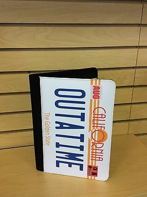 Outatime License Plate Notebook Back To The Future Custom Made To Order