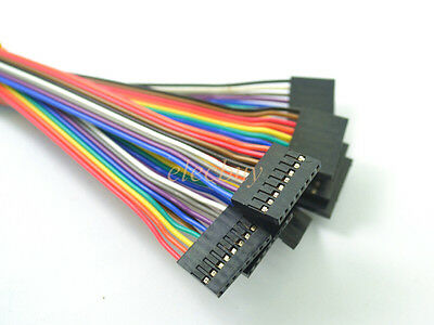 10pcs 8pin 20cm 2.54mm Female to Female jumper wire Dupont cable for Arduino