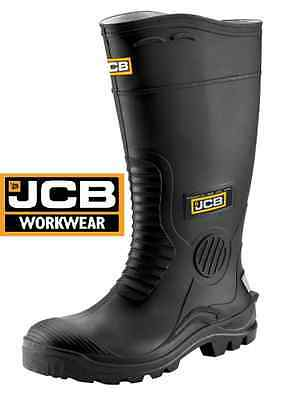 Jcb Mens Wellies Hydromaster Safety Work Wellingtons Steel Toe Cap Midsole  Size
