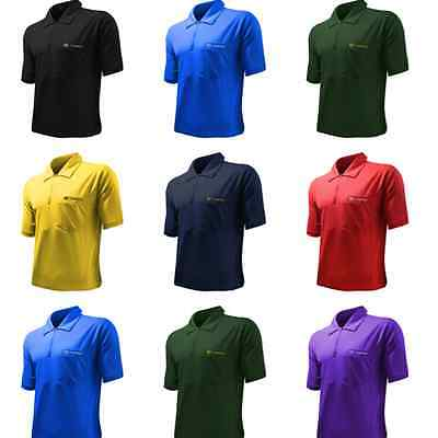COOLPLAY PLAIN DARTS SHIRT BY TARGET - Cool Play Polo, 8 SIZES, 7 Colours