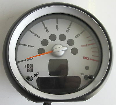 Genuine Used BMW MINI Rev Revolution Counter for R56 R55 R57 R58 R59 - 9189516