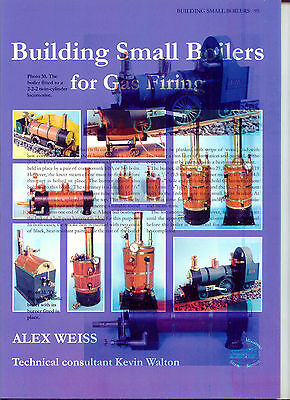 Building Small Boilers for Gas Firing by Alex Weiss (mis-printed cover)