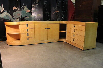 "Brian Palmer Maple ""Modern Collection"" for Baker Furniture; 5 Piece Credenza"
