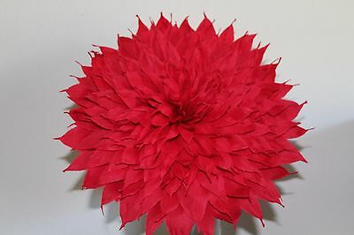 Large bridal bouquet mexican crepe paper flowers we make special x large crepe paper flower red 13 diameter we make special mightylinksfo