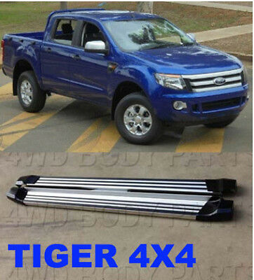 (94) Ford Ranger PX PX MkII 2012 to 2016 Double Cab Side Steps Running Boards