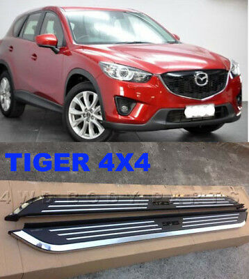 (#153) Mazda CX-5 CX5  2012 to 2016 Aluminium Side Steps Running Boards