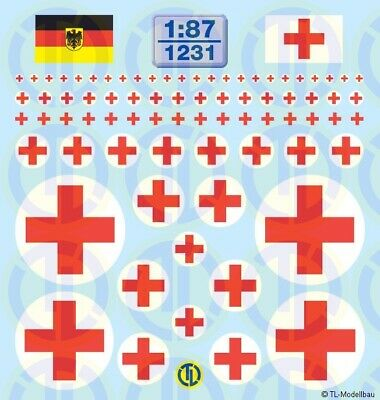 1231 - Decals Sanka-Kreuze 1:87