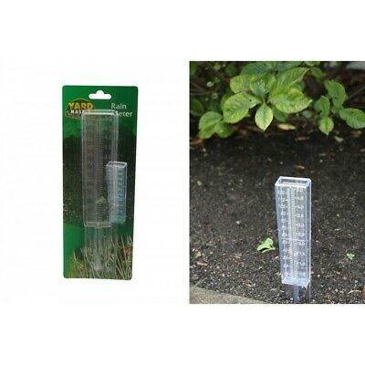 1pce Rain Meter / Gauge 120MM Capacity 25CM or 5 inches Tall
