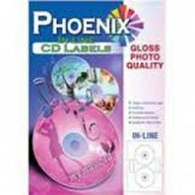 50 Cd Dvd Super Gloss Inline Neato Style Labels
