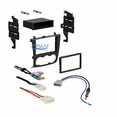 CAR STEREO DOUBLE DIN Dash Kit Bose Wiring Harness Antenna for Infiniti on