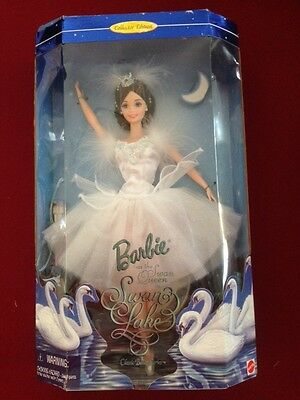 Barbie Doll Swan Queen Swan Lake Collector Edition Mattel 18509