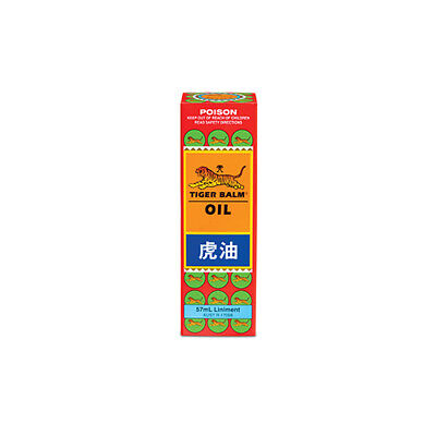 NEW Tiger Balm Balm Oil Oil 57mL Pain Relief Massage Oils Lotions