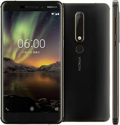 """New Nokia 3.1 Blue 16GB 4G LTE 13MP 5.2"""" WIFI NFC Android Unlocked Smartphone UK"""