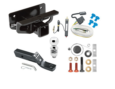 TRAILER HITCH PACKAGE W/ WIRING FITS 03-18 DODGE RAM 1500 (2019 1500 Classic)