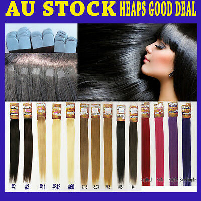 "18""-19"" Micro Tape Remy Human Hair Extension New Technique More Invisible &Comfy"