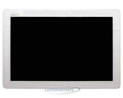 """New Genuine Asus K00F 10.1"""" Lcd Touch Screen Digitizer Assmebly White Color"""