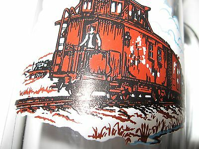 !0 (TEN)  Collectable Railroad vintage glasses beer steins & coffe mugs trains