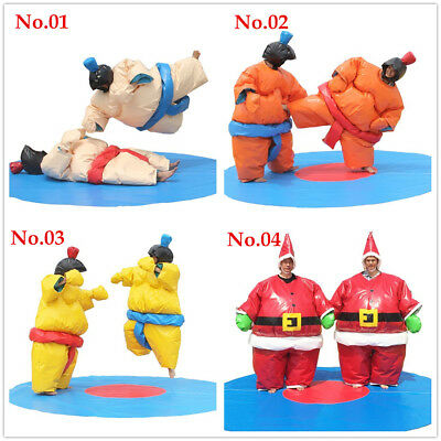 Wrestling Sumo Suit Adult Pair Wrestler Dress Sport Entertainment Costume/1 Set