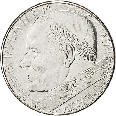 [#46889] VATICAN CITY, John Paul II, 50 Lire, 1985, KM:187