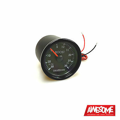 Newsouth Performance Indigo 0>30Psi 52Mm Boost Gauge Vw Golf 5 Petrol Gau017