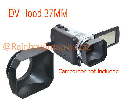JJC 37mm Lens Hood Cap Strap for Sony Canon Digital Video DV Camera Camcorder