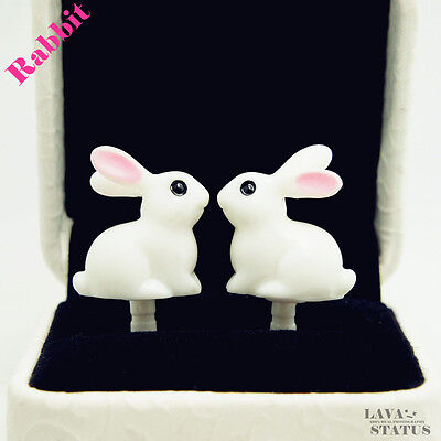 1pcs Rabbit Cell Phone Accessories Anti Dust Plug for Mobile phone Jack Plug