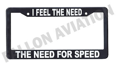 """/""""FLY/"""" Aviation License Plate 30395 Metal Black /& White"""