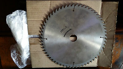 "H.T.CHAPMAN 9"", 60 TUNGSTEN CARBIDE Tooth CIRCULAR SAW BLADE. Bore ID 1"""