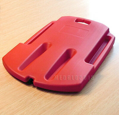 Medical PLASTIC CPR BOARD CPR BACK BOARD FIRST AID EMS RED COLOR Cup-shaped