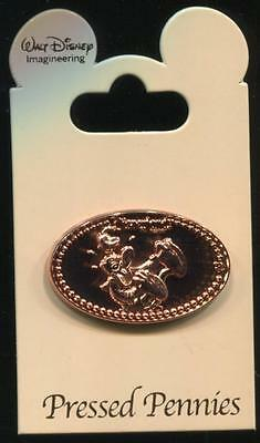 WDI Pressed Pennies Laughing Donald Duck LE 250 Disney Pin 97183