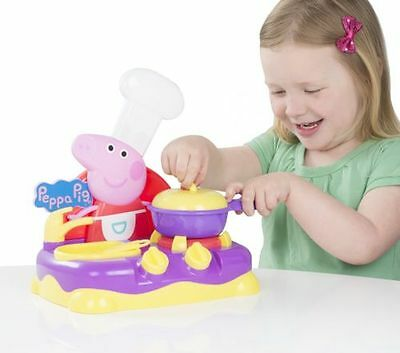 Peppa Pig Sing Along Kitchen Playset.moves sings play food great fun toy new