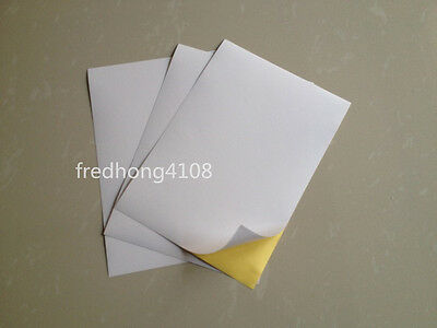 5x self-adhesive sheet paper labels 10 210x148mm a5 or 2 by plank