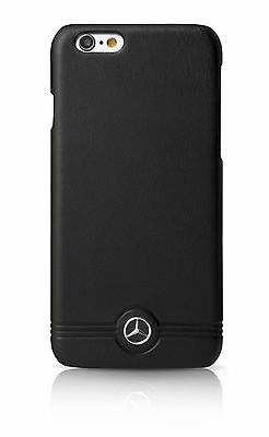 Genuine Mercedes-Benz Pure Line Front Grill Leather Hard Case iPhone 6 & 6s
