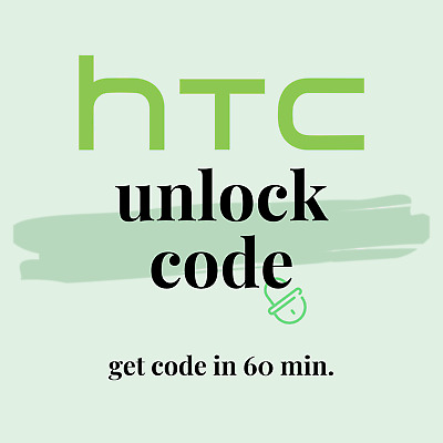 Unlock Code Service for AT&T Cricket HTC One X S V M7 M8 M9 Desire 601 510 320
