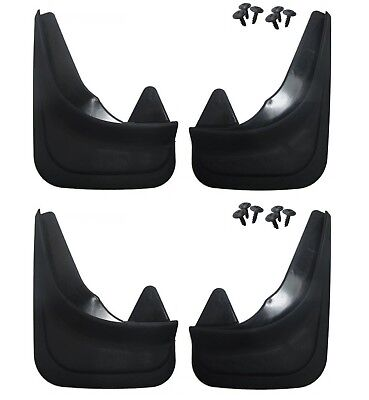 4 x Moulded Universal Fit Mud Flap Mudflaps Front & Rear fits Nissan Models