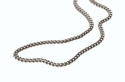 Phiten Pure Titanium Chain Necklace Highest-end Made in JAPAN [Japan Import] (1