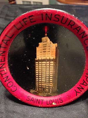 """Continental Life Insurance Co St Louis 4 1/8"""" Tip Tray"""